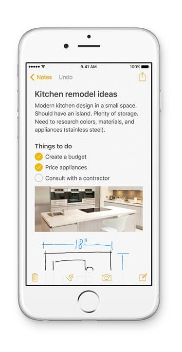 애플 노트 앱 이미지
