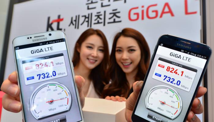 KT 세계 최초 `무선 1G` 서비스 상용화