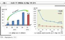 OLED TV 시장, 올 1분기 전년 동기 대비 7배 증가
