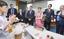 [사진뉴스]스웨덴 국회의원들 10일 대전창조경제센터 방문