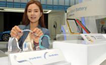 삼성SDI vs LG화학, 굽고 휘어지는 '웨어러블 배터리' 대전쟁