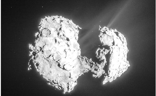 67P혜성의 코마에서 풍부한 산소가 발견됐다. 사진=ESA