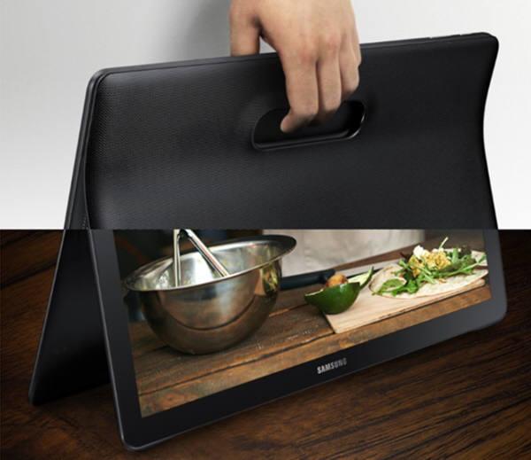 삼성의 18.4인치 괴물태블릿 갤럭시뷰가 다음달 6일 미국시장에서 첫 출시될 것으로 알려졌다. 가격은 599달러(68만5천원)이다. 사진=삼성