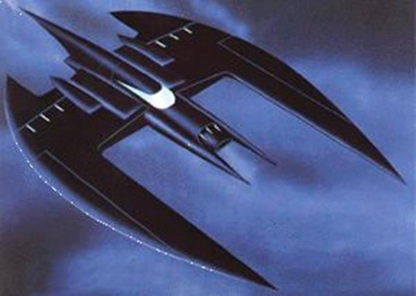 상상속의 배트비행기. 사진=DC.위키아