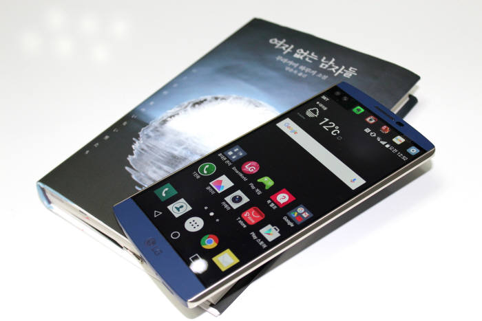LG전자 스마트폰 `V10`