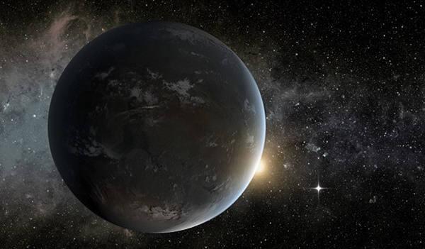 천문학자들이 명왕성까지 거리보다 6배 더 떨어진 태양계에서 슈퍼지구를 발견했다고 발표했다. 사진=나사