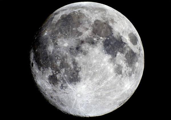 미항공우주국이 촬영한 달 사진. 사진=나사