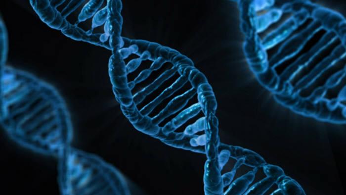 딥러닝에 기반한 DNA이미지(출처 Pixabay.com)