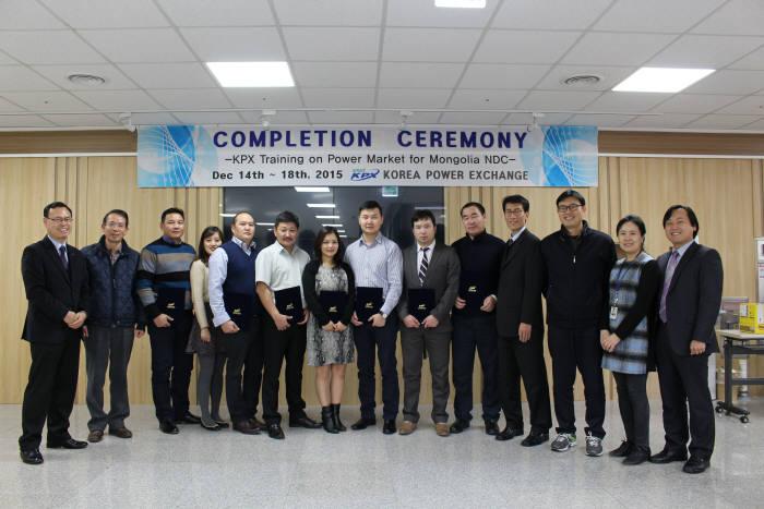 전력거래소, 몽골에 전력시장 시스템 `한수` 가르쳐