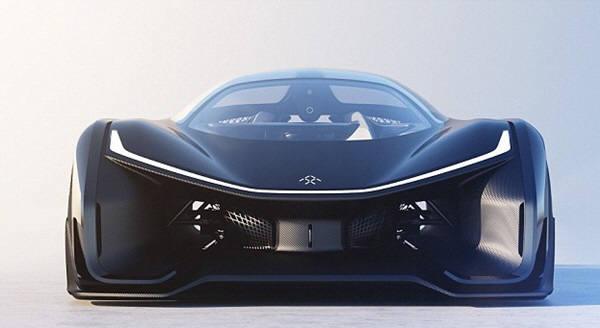 패러데이퓨처가 공개한 미래카 컨셉. 콜벳과 배트카가 합쳐진 듯한 디자인이다. 2년내 생산될 전망이다. 사진=패러데이퓨처