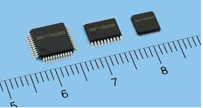 르네사스가 공급하는 절전형 MCU 'RL시리즈'.