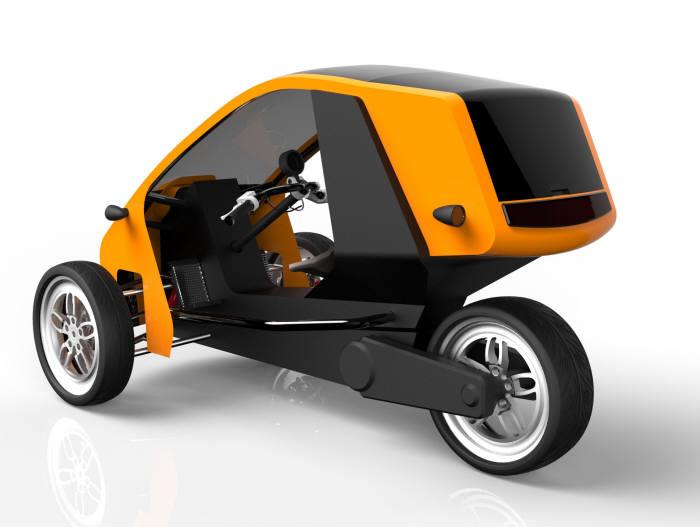 중소제조사 3륜 전기차 잇따라 출시...법안 정비시 4륜차 도전