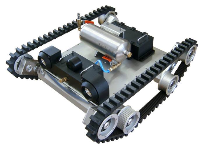 한울로보틱스 군사용 탱크로봇.