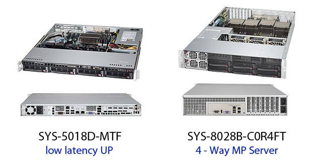 하이쓰룻풋컴퓨팅에서 기록적인 높은 전송률을 보인 슈퍼마이크로 서버.