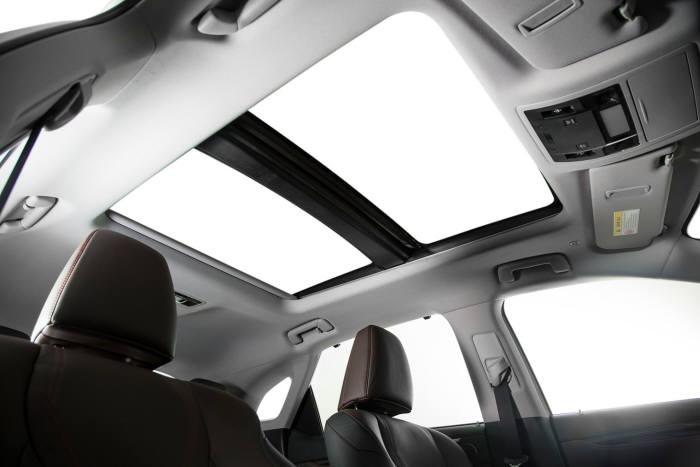 렉서스 하이브리드 중형 SUV `RX450h` 파노라마 선루프