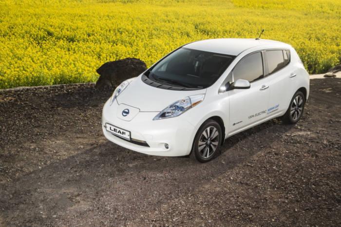 전기차 누적 판매 세계 1위 닛산 순수 전기차 `리프`