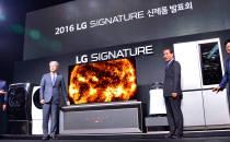 초프리미엄 가전 통합브랜드 `LG 시그너처` 신제품 출시