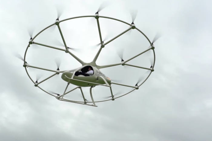 세계 첫 전기 헬리콥터 볼로콥터 VC200(출처:이볼로).