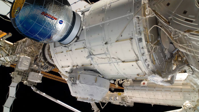 비글로가 ISS로 보낸 소형 거주시설(출처:비글로)