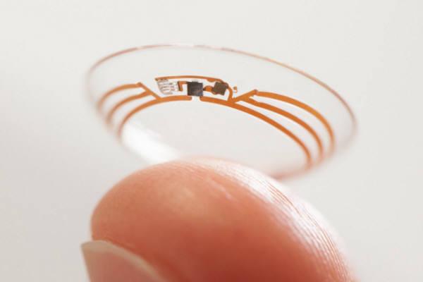 구글 `스마트콘택트렌즈`