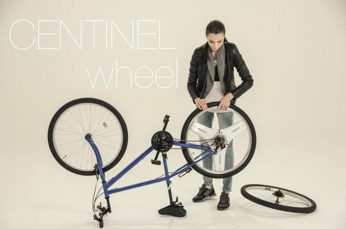 하이코어 `센티넬휠`은 자전거 뒷바퀴 교체만으로 전기자전거로