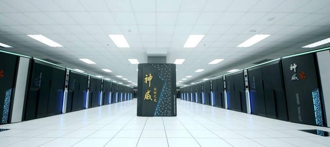 세계 1위 슈퍼컴 중국 선웨이.