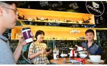 카페에서 드론 체험, 카페 드로젠 오픈
