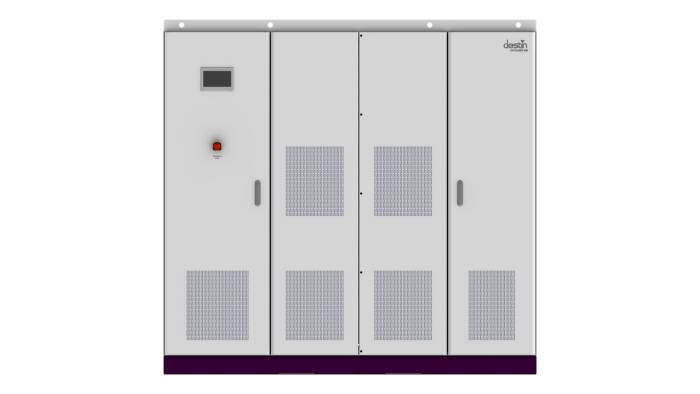데스틴파워가 개발한 세계 최고 효율의 500kw급 태양광 인버터