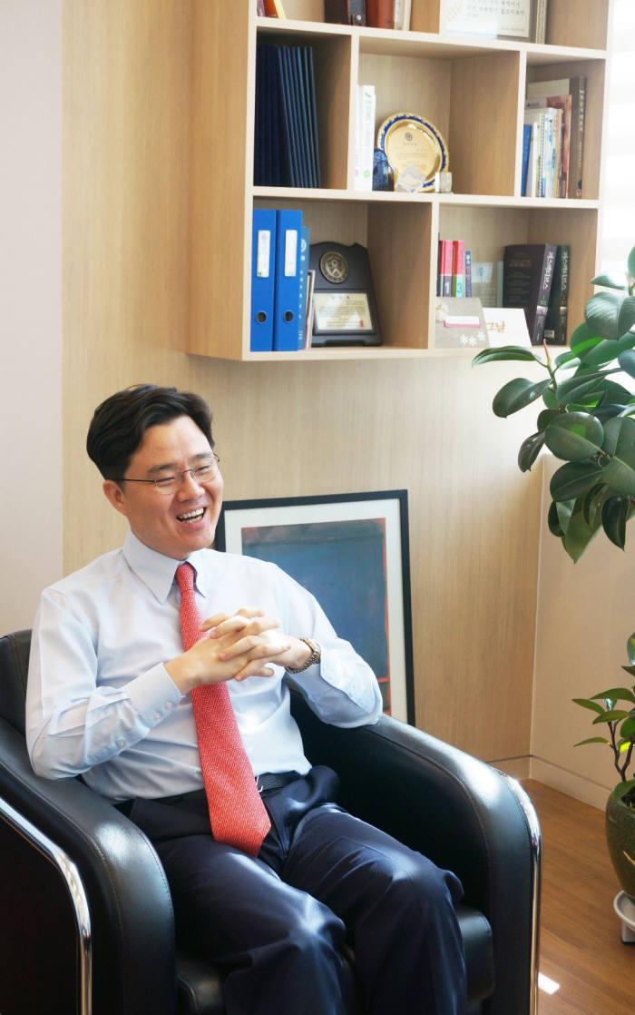 김진수 트리니티소프트 대표.