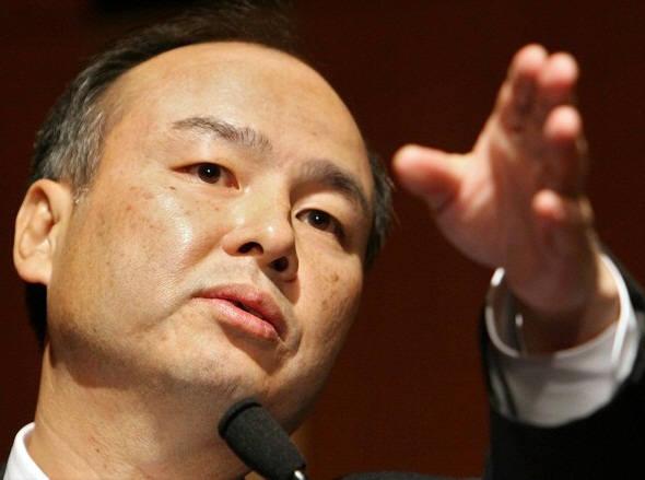 손정의 일본 소프트뱅크 창업자