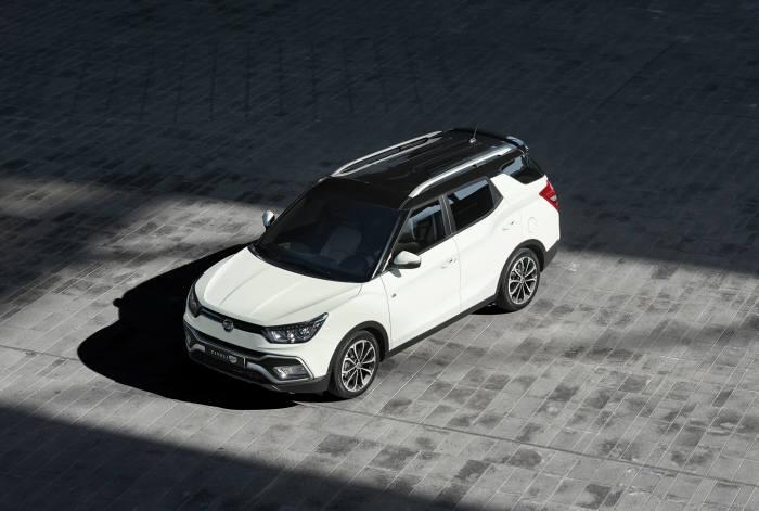 쌍용자동차 소형 SUV `티볼리 에어` (제공=쌍용자동차)