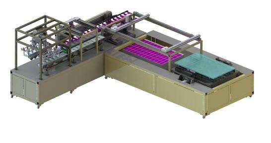 베셀이 개발한 플렉시블 OLED용 라미네이션 장비 콘셉트 (사진=베셀)