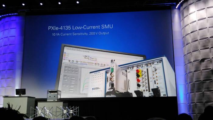 NI위크 2016에 소개된 최신 SMU `PXI 4135`