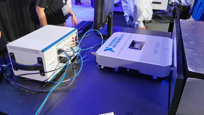 아우디 차량용 레이더 시험에 사용된 시뮬레이션 시스템