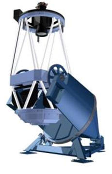 1.6m 광시야 망원경 3차원 이미지