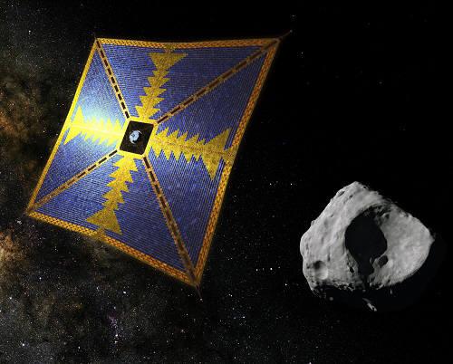 JAXA가 개발 중인 솔라 세일 탐사선