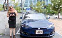 테슬라 전기차 `모델S` 한국에서 도로 주행 테스트