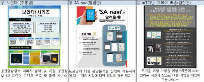 공간정보 융복합 대상에 Blue팀 `바이패스`…국토부, 판로 확보 지원