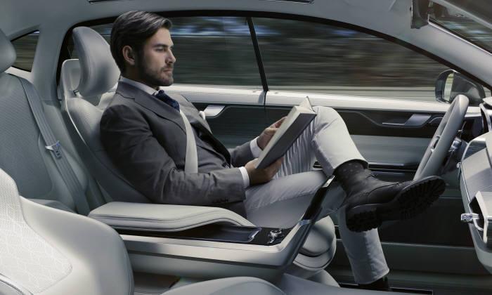 볼보자동차 자율주행 콘셉트
