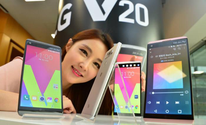 [동영상 뉴스]LG, V20 베일 벗다