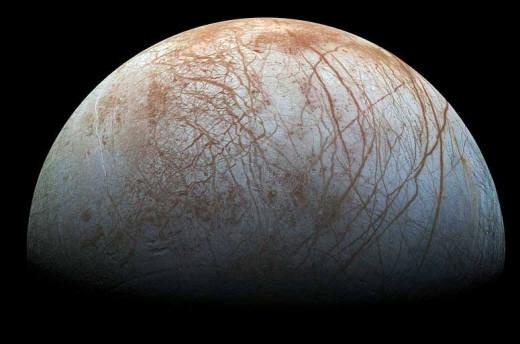 목성의 얼음 위성 `유로파`