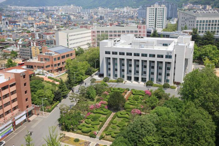우송정보대학교 학교 전경