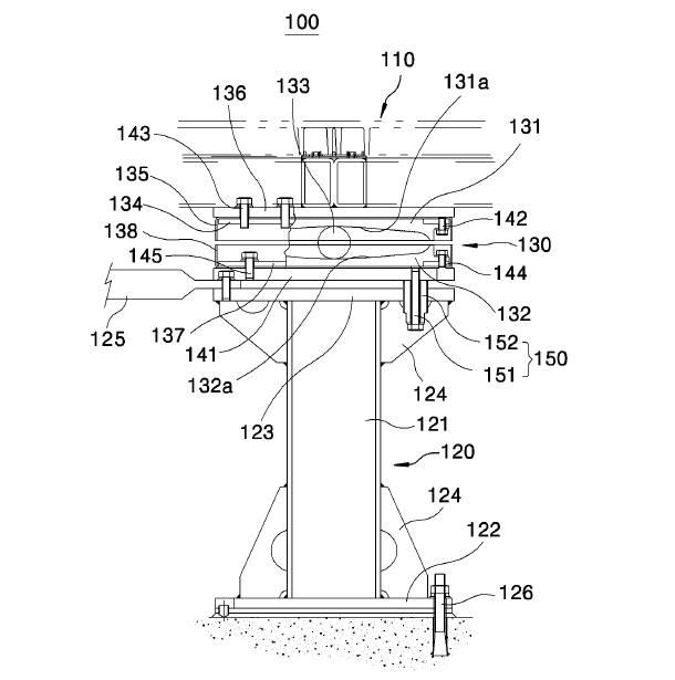 면진이중마루에 사용되는 볼베어링을 이용한 면진 액세스플로어(특허 제10-1284885호) 특허