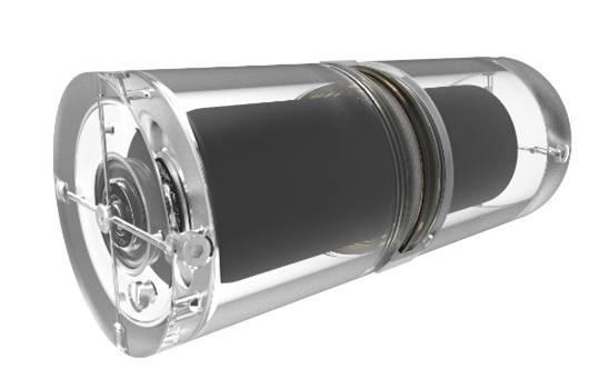 엔에프가 개발 중인 비상용 탈출 산소 공급 키트.