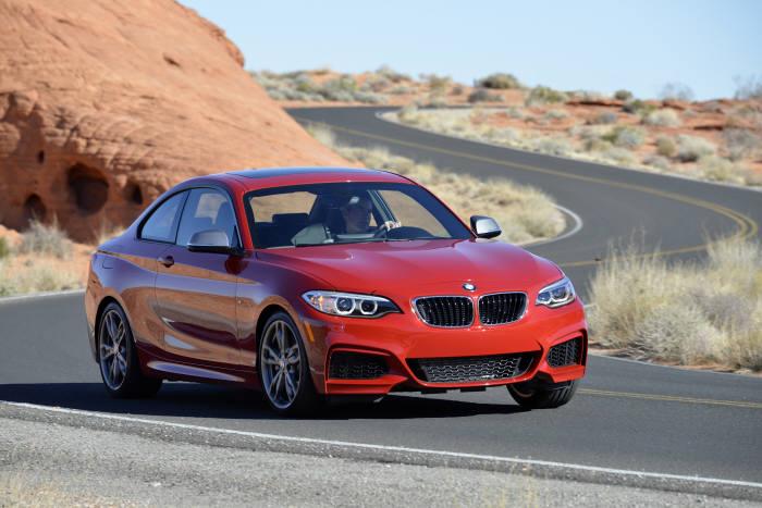 BMW 소형 쿠페 `220d M스포츠 패키지` 주행모습 (제공=BMW코리아)