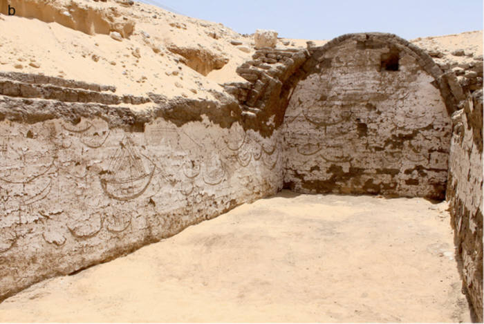 고대 이집트 벽화 출처 : 해양고고학 국제저널