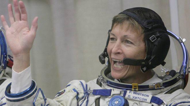 최고령 여성 우주인 페기 윗슨(Peggy Whitson)