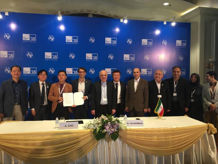 코발트레이, 이란 업체와 95억원 협약 체결