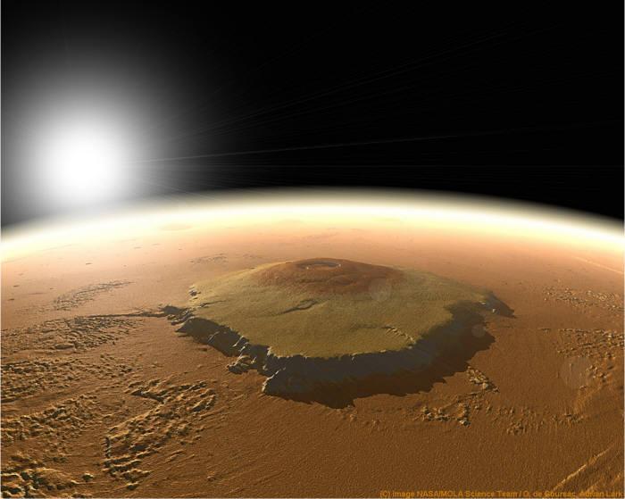 화성 올림푸스 화산
