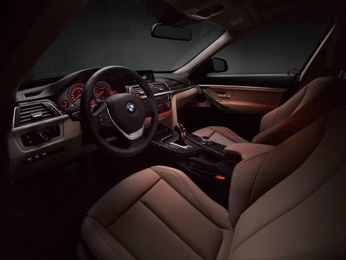 BMW 3시리즈 그란투리스모 xDrive 실내 공간 (제공=BMW코리아)